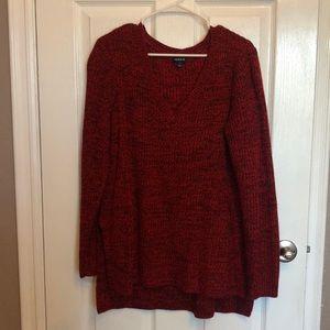 Torrid size 1 V-neck sweater.